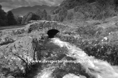 Ashness Bridge near Derwentwater, Lake District