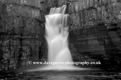 High Force Waterfall river Tees, Durham