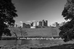 Alnwick Castle, River Aln, Northumbria