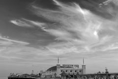 Brighton Palace Pier at Dusk