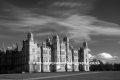 Golden Gate west elevation of Burghley house
