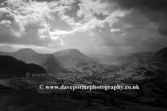 Stormy Derwent Fells, Newlands valley, Lake District
