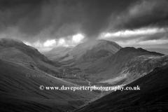 Landscape view, Ennerdale valley, Lake District