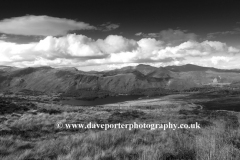 Derwentwater and Cat Bells fell, Lake District