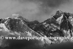 Snow Capped Everest mountain, Himalayas