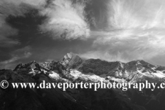 Snow Capped Thamsherku mountain, Himalayas