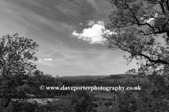 West Burton village, Wensleydale, Yorkshire