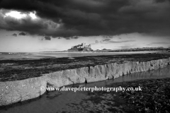 Storm clouds, Bamburgh Castle, Northumberland
