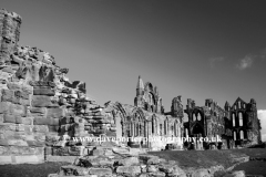 The ruins of Whitby Abbey Priory
