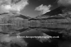 Whiteless Pike, reflected in Buttermere, Lake District