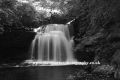 Cauldron Falls, West Burton village, Wensleydale