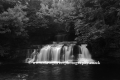 Cotter Force waterfall, River Ure, Wensleydale