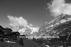 Swiss Chalets in the ski resort of Grindelwald
