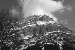 The Schrekhorn mountain, Grindelwald, Swiss Alps