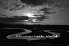 Ox  Bow meander, river Cuckmere Haven, Sussex