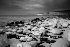 The 7 Sisters Chalk Cliffs, Birling Gap, Sussex