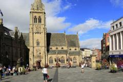 St Nicholas church, Market Place, Durham City, County Durham, England.