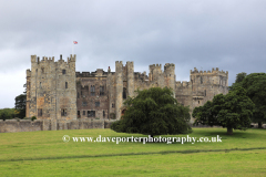 Summer, Raby Castle, Staindrop village, Darlington, Durham County, England, Britain, UK