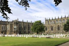 Summer, Auckland Castle, Bishop Auckland town, County Durham, England.