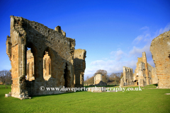 Spring, April, May, Egglestone Abbey, Durham County, England, UK