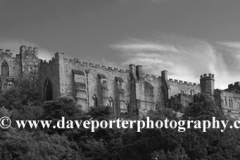 Summer view of Durham Castle, Durham City, County Durham, England.