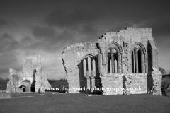 J02697 English Heritage Site Egglestone Abbey Durham County England UK