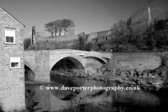 Spring, April, May, Barnard Castle, River Tees, Durham County, England, UK