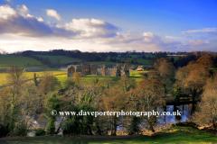 Egglestone Abbey, Durham County, England, UK