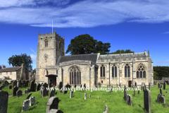 St Romalds church, Romaldkirk village, County Durham, England, UK