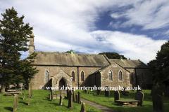 St Giles Parish Church, Bowes village, Upper Teesdale, Durham County, England, Britain, UK