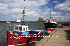 Fishing Boats in the Harbour, Lindisfarne
