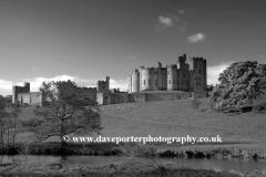 Alnwick Castle, River Aln