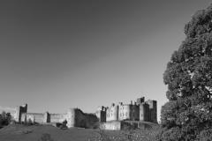 River Aln and Alnwick castle