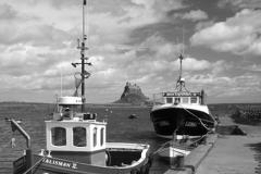 Fishing Boats, Lindisfarne Castle, Holy Island