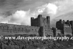 Battlements of Bamburgh Castle