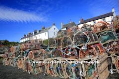 Lobster Pots, Craster village