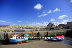 Beadnell village Harbour