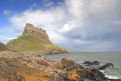Rainbow and Storm Clouds, Lindisfarne Castle