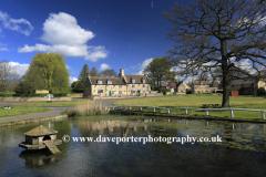 Barrowden village green and pond
