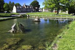 Summer view over Barrowden village