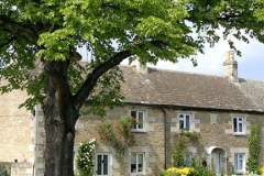 The village green, Edith Weston