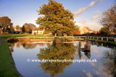 Village Green and Duck Pond, Barrowden village