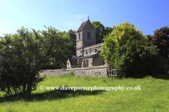 Summer, All Saints church, Tinwell village