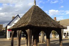 The Wooden Marketcross, Oakham town