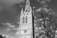 All Saints church, town of Oakham