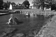 Barrowden village pond and village green