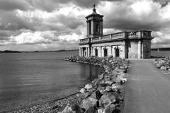 Normanton church, Rutland Water Reservoir