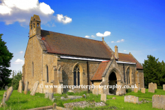 St Michaels church Whitwell village