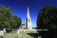 Summer, St Peters Church, Barrowden village