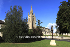 St Peters church, Empingham village